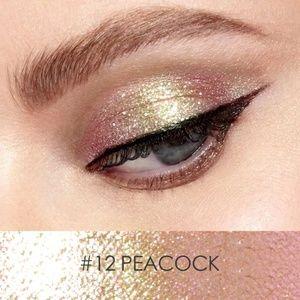 Focallure Glitter Liquid Eyeshadow #12 PEACOCK